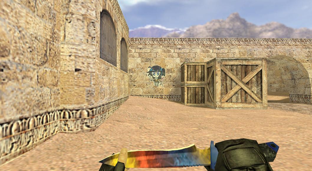«Кавайный террорист» для CS 1.6