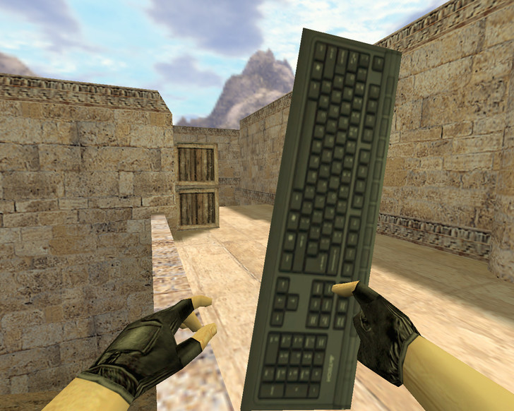 «Клавиатура» для CS 1.6