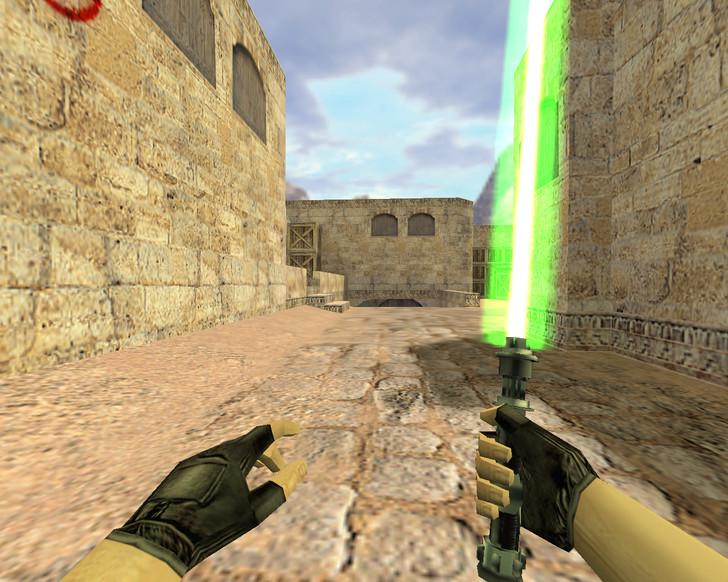 «Световой меч» для CS 1.6