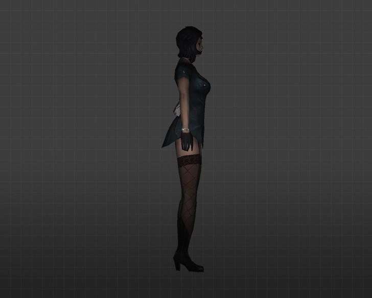 «Девчонка короткая юбчонка» для CS 1.6