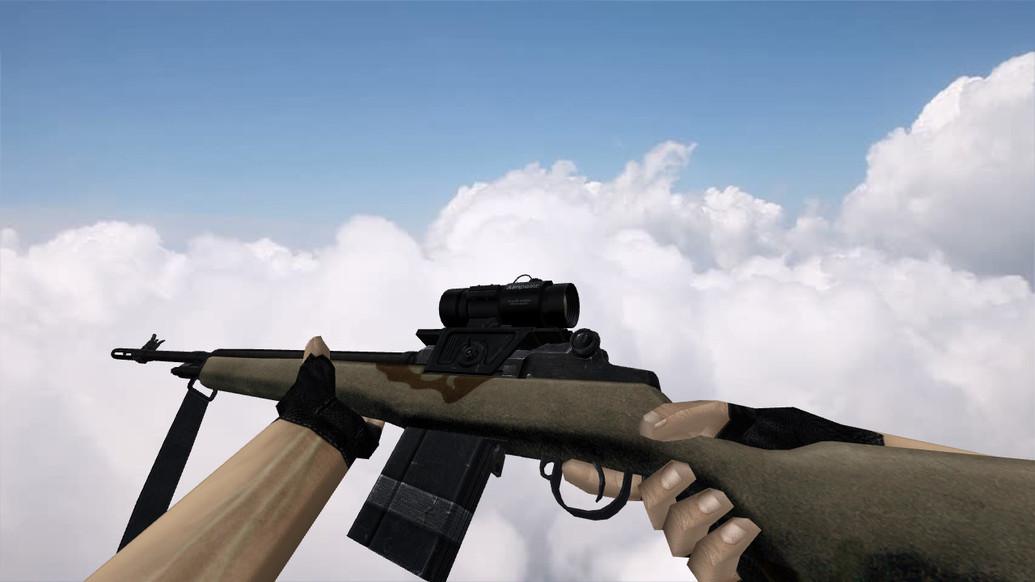 «M14 Riffle» для CS 1.6