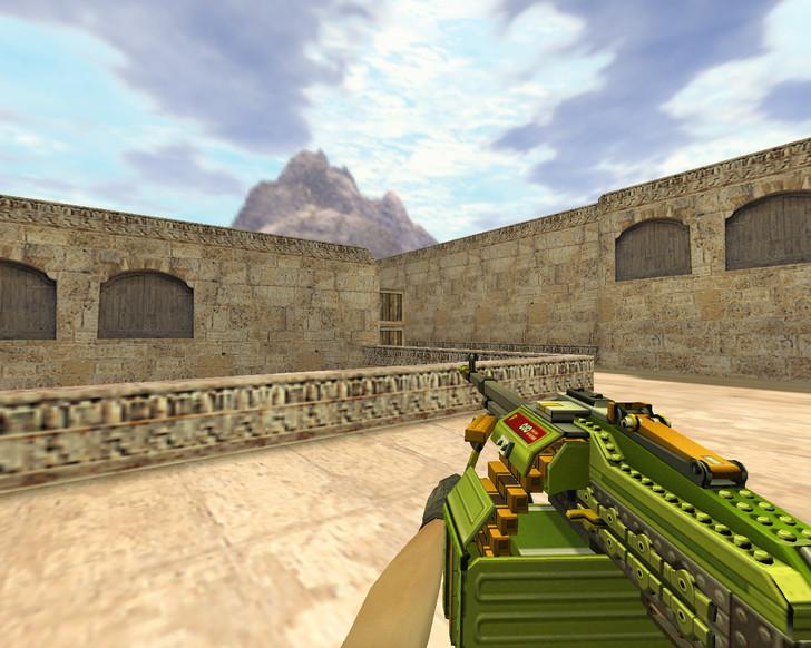 «Пулемет LEGO» для CS 1.6