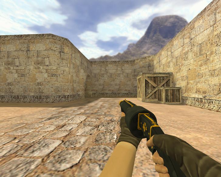 «М3 Желтый цветок» для CS 1.6