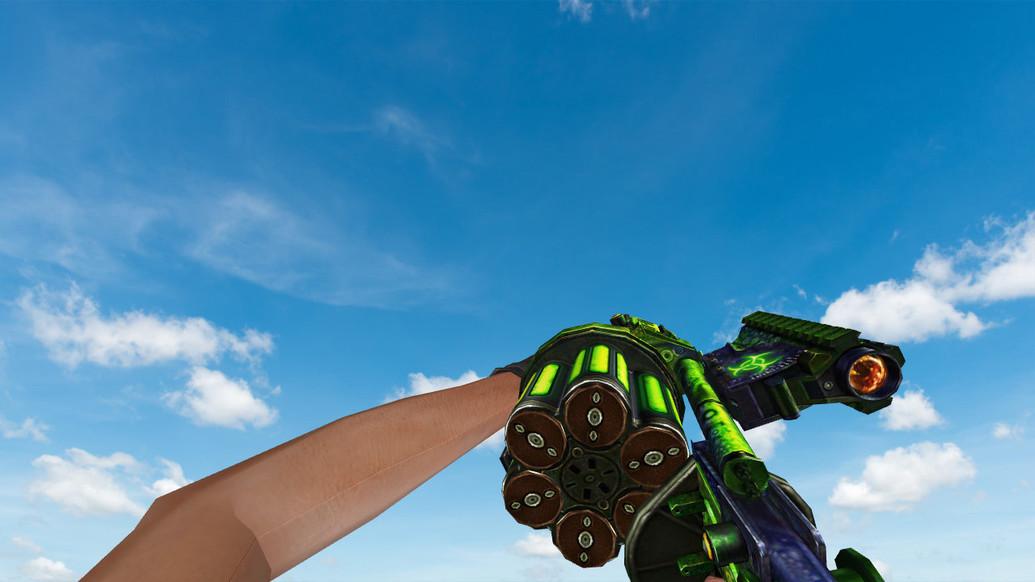 «M32 MGL Venom» для CS 1.6
