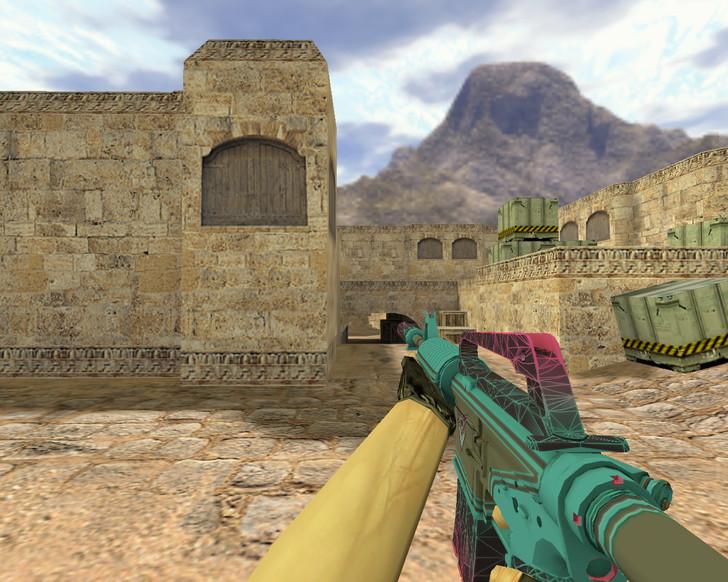«М4А1 Опустошитель» для CS 1.6