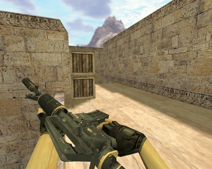 «М4А1 Элитное снаряжение» для CS 1.6