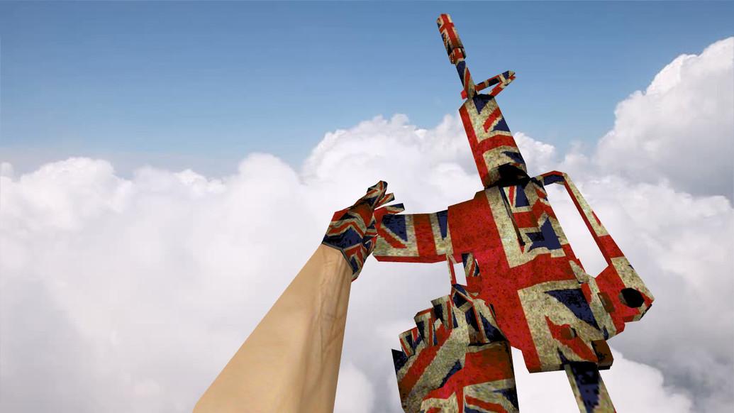 «M4A1 Great Britain» для CS 1.6
