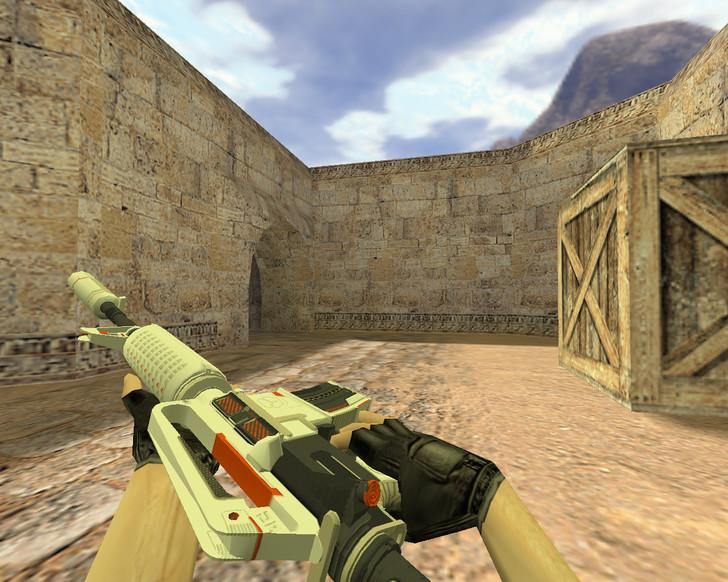 «М4А1 Механо-пушка» для CS 1.6
