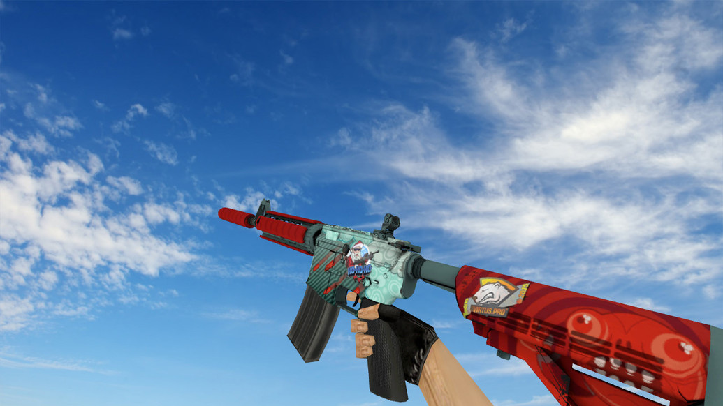 «M4A4 «Дождь из пуль»» для CS 1.6