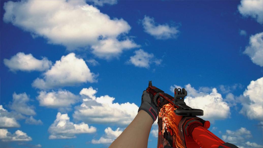 «M4A4 «Вой» Specialist Gloves» для CS 1.6