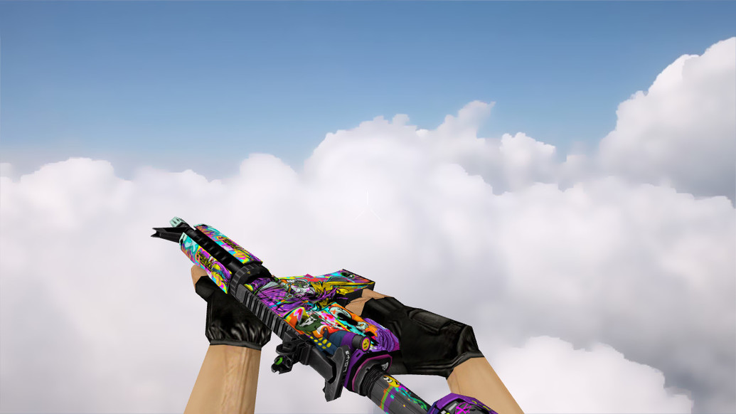 «M4A4 | In Living Color» для CS 1.6