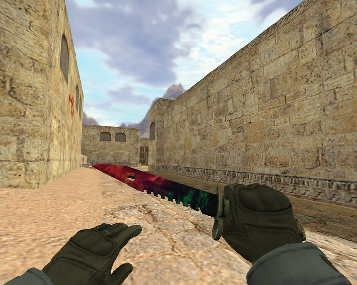 «Штык-нож М9 Подземное эхо» для CS 1.6