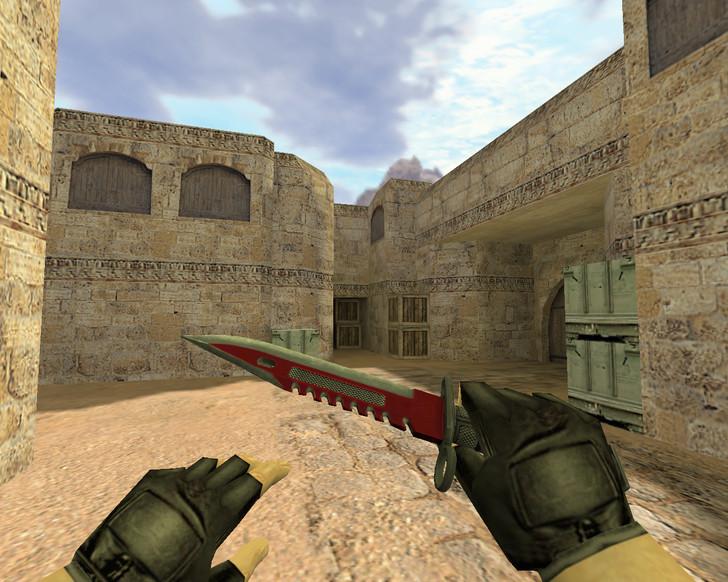 «Штык-нож М9 Автотроника» для CS 1.6