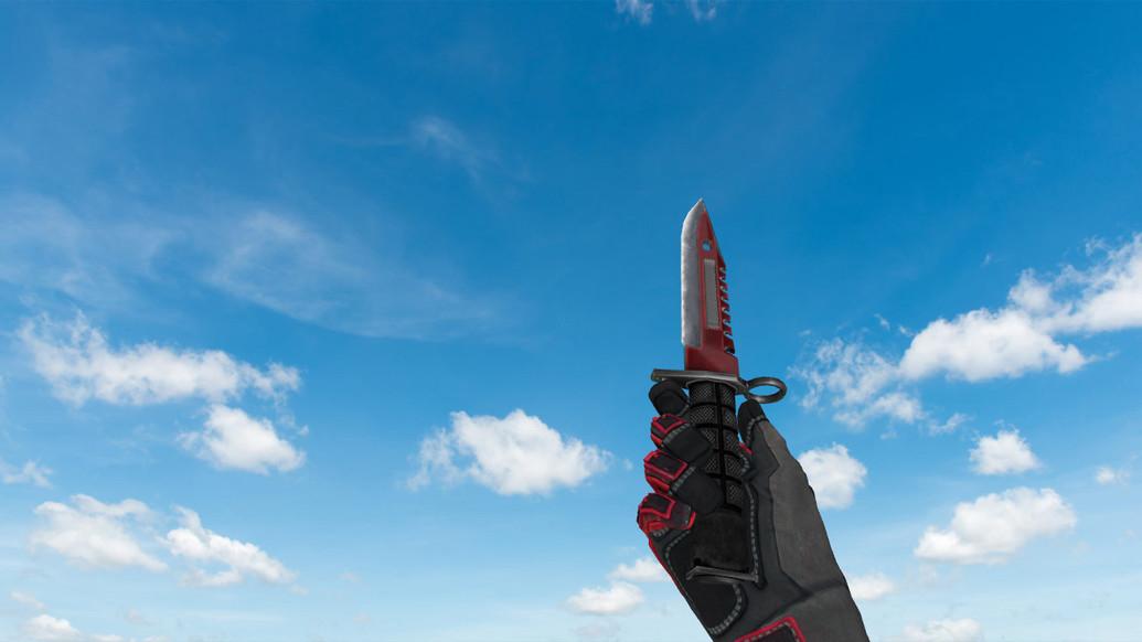 «Штык-нож M9 «Автотроника»» для CS 1.6