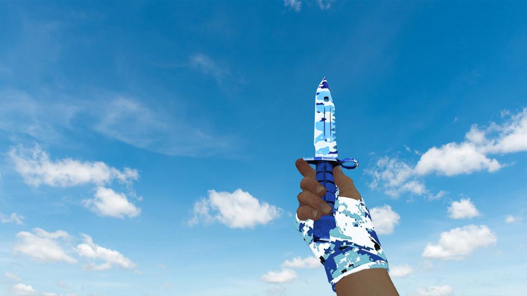 «Штык-нож M9 «Чистая вода»» для CS 1.6