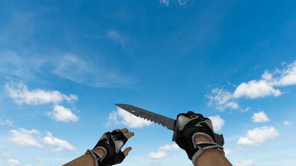 «Штык-нож M9 «Дамасская сталь»» для CS 1.6