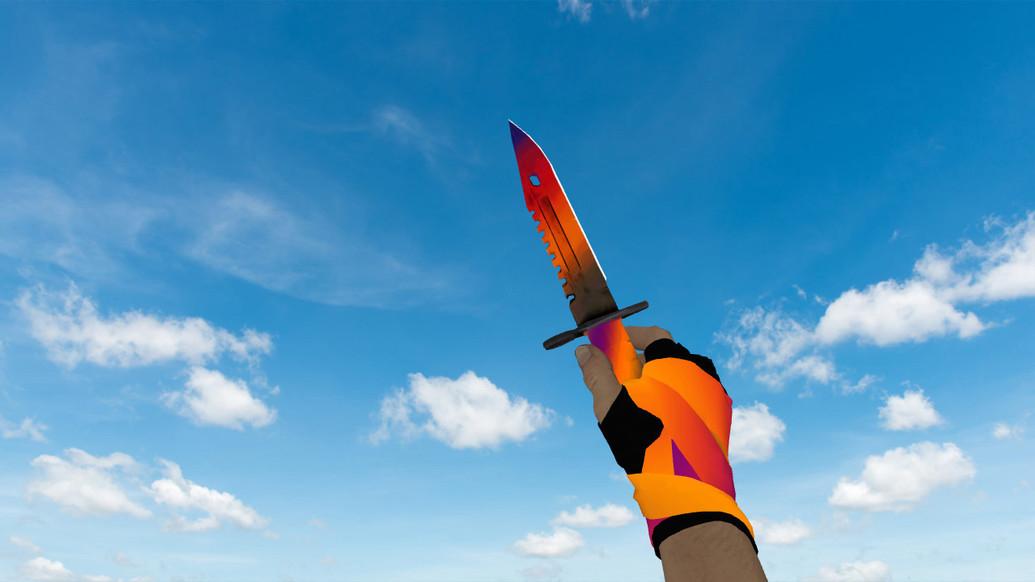 «Штык-нож M9 «Градиент»» для CS 1.6