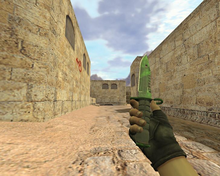 «Штык-нож М9 Гамма-волны» для CS 1.6