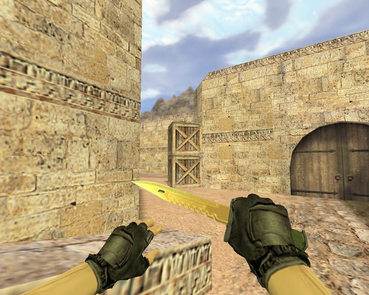 «Штык-нож М9 Легенды» для CS 1.6