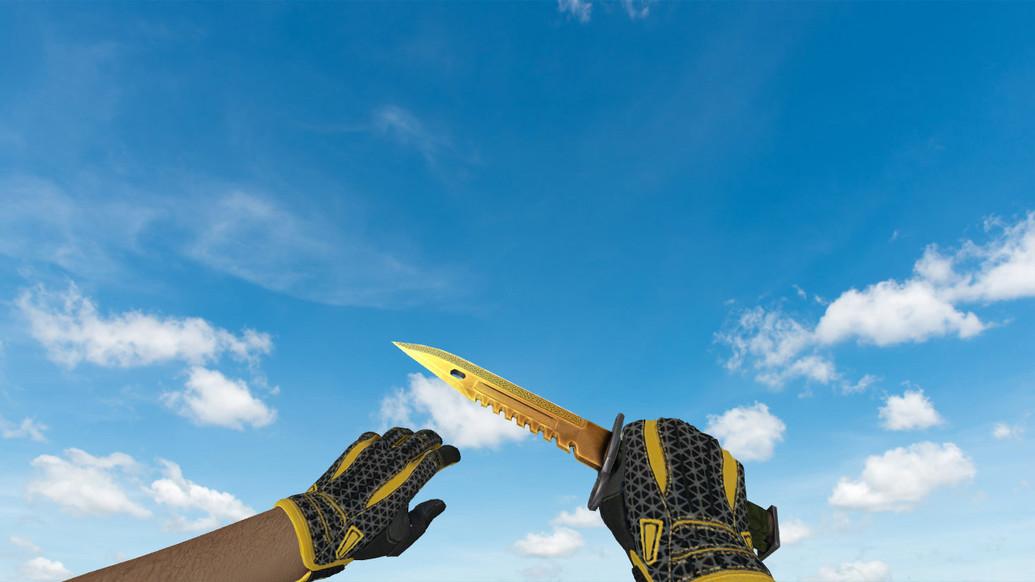 «Штык-нож M9 «Легенды»» для CS 1.6