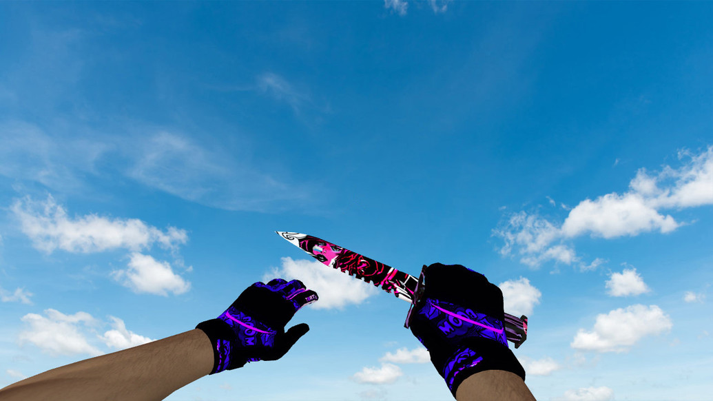 «Штык-нож M9 «Неонуар»» для CS 1.6