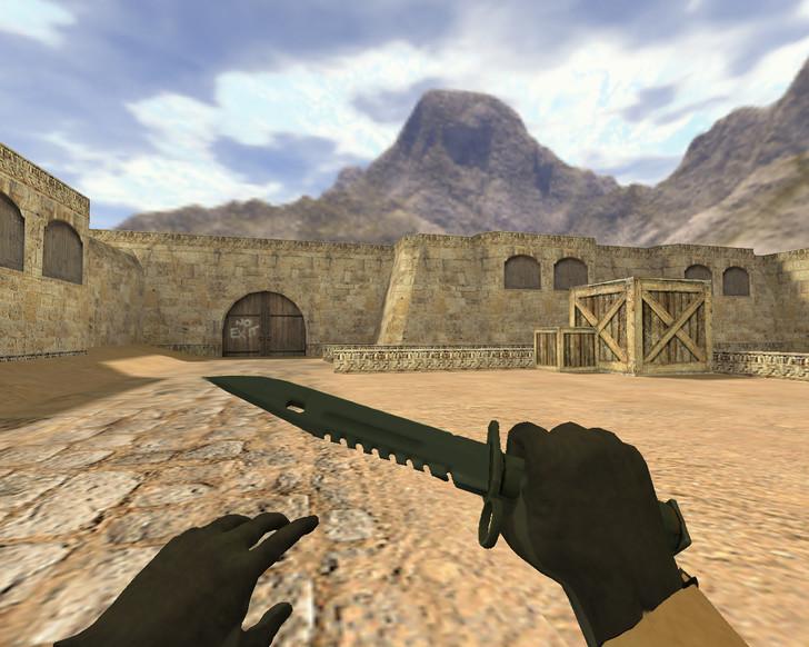 «Штык-нож М9 Ночь» для CS 1.6