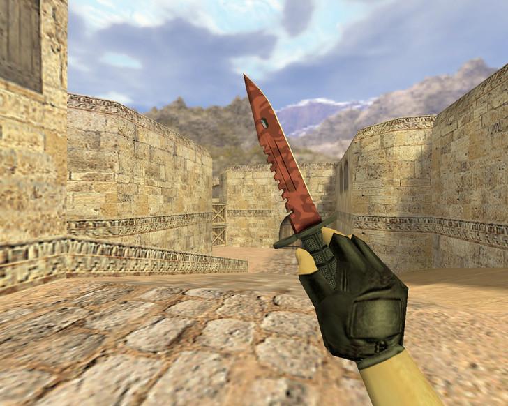 «Штык-нож М9 Убийство» для CS 1.6