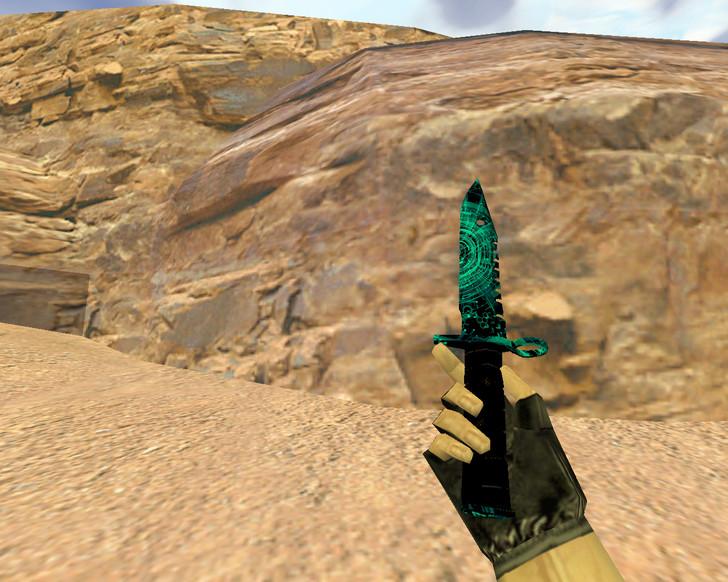 «Штык-нож М9 Осколок» для CS 1.6