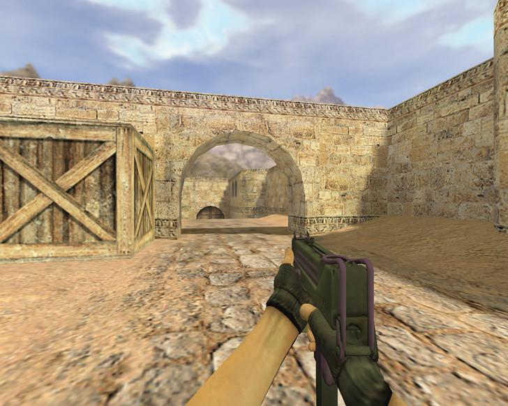 «MAC-10 Ультрафиолет» для CS 1.6