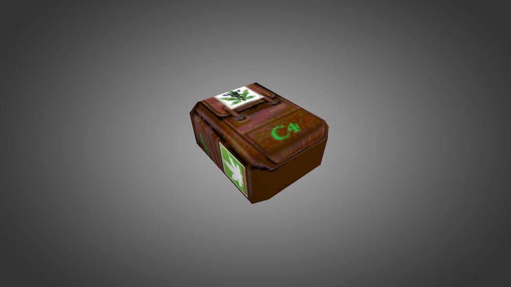 «Marijuana Backpack» для CS 1.6