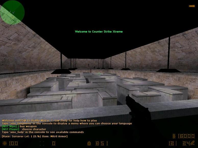 «Maze» для CS 1.6