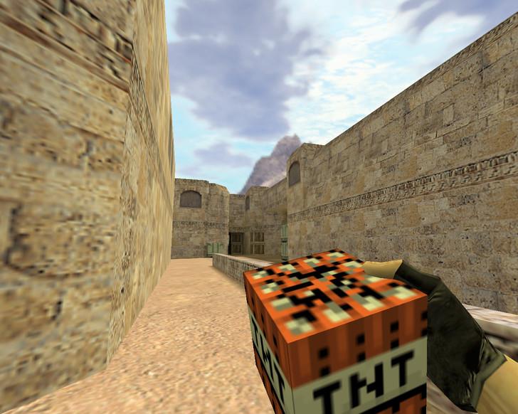 «Граната TNT из Майнкрафта» для CS 1.6