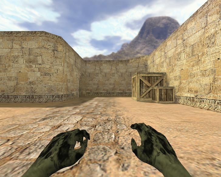 «Руки зомби» для CS 1.6