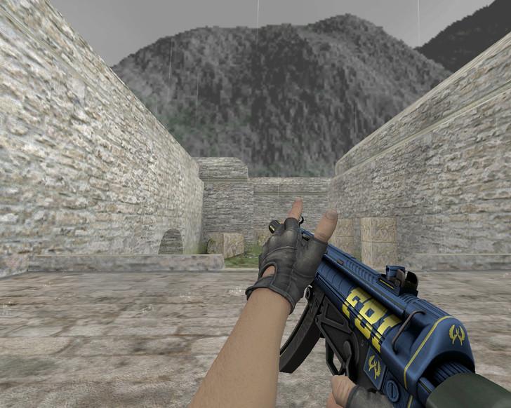 «MP5-SD «Агент»» для CS 1.6