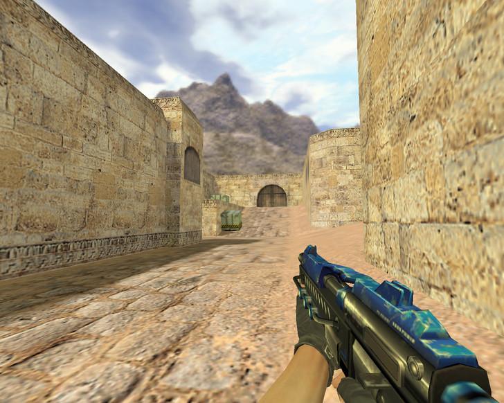 «MP5 Голубое будущее» для CS 1.6