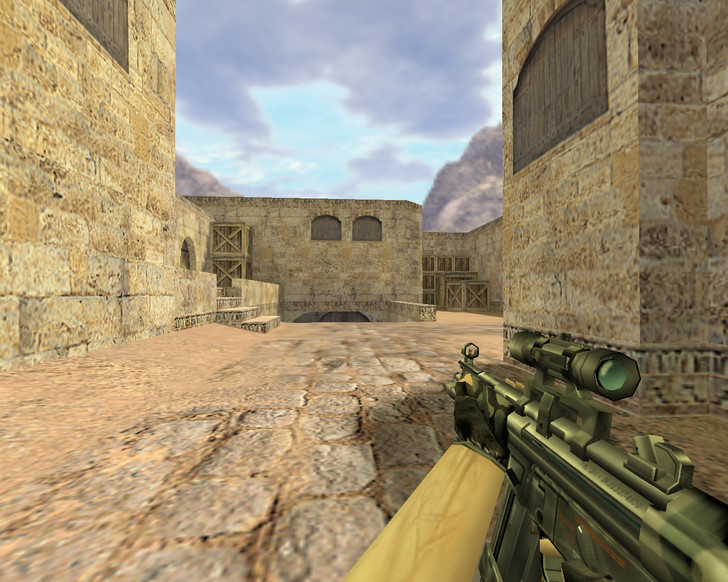 «MP5 Камуфляж с оптикой» для CS 1.6