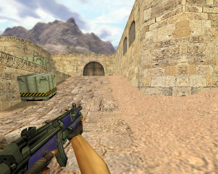 «MP5 Сирень» для CS 1.6