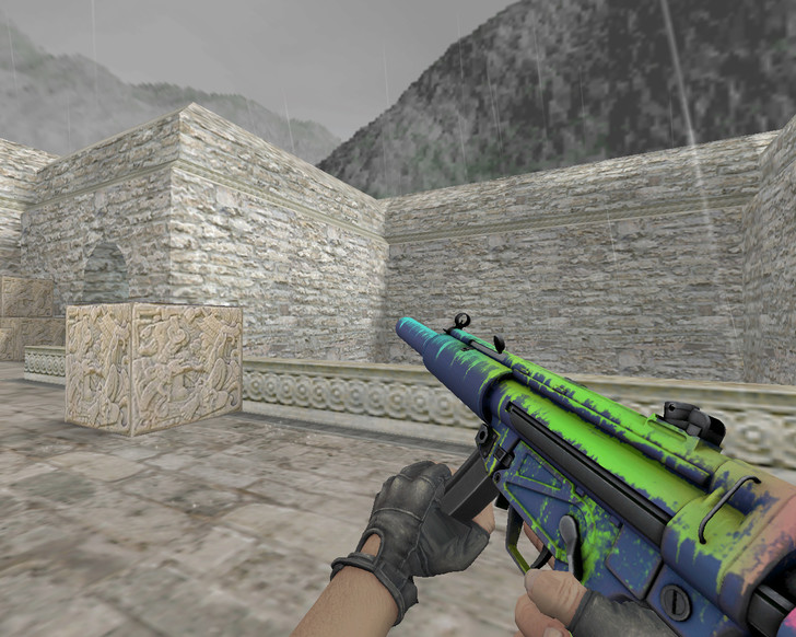 «MP5 «Фосфор» (Phosphor)» для CS 1.6
