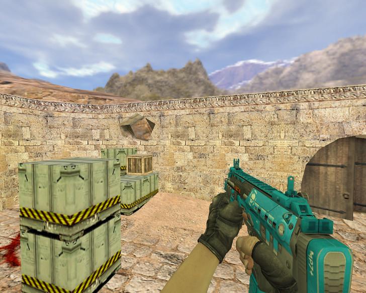 «MP7 Перистое облако» для CS 1.6