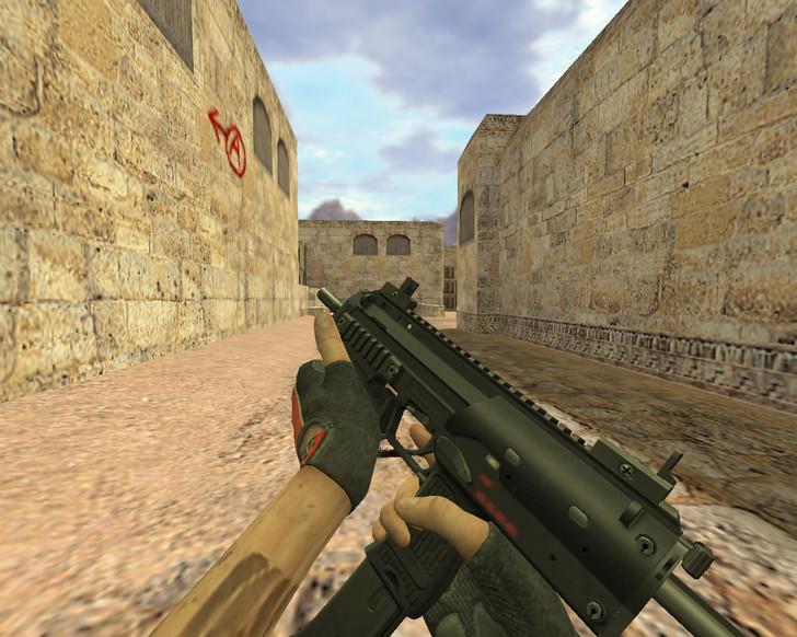 «MP7 Стандартный» для CS 1.6