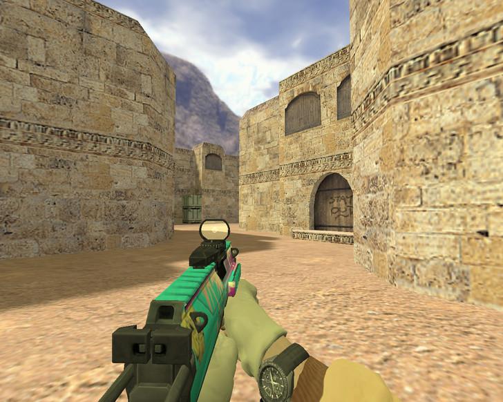 «MP7 Майами» для CS 1.6