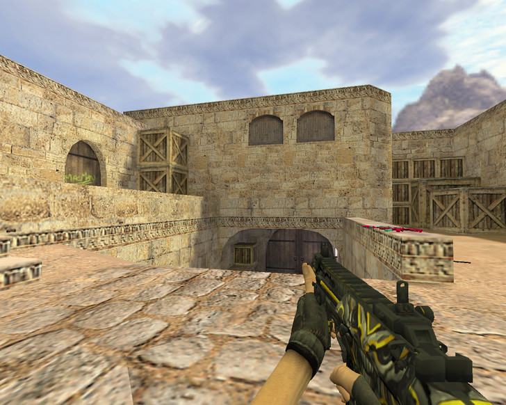«MP7 Заклятый враг» для CS 1.6