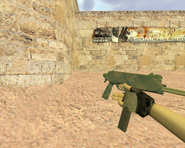 «MP9 Зеленая клетка» для CS 1.6