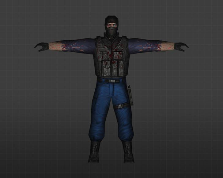 «GIGN-мутант» для CS 1.6