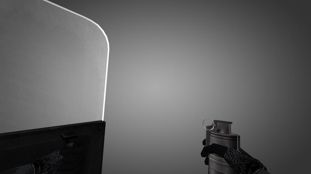 «MW2 like Shield» для CS 1.6