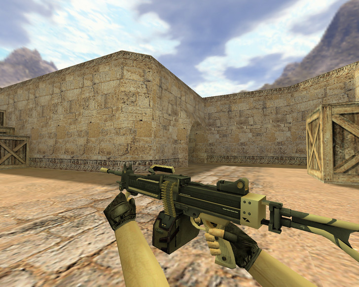 «Negev Пустынная атака» для CS 1.6