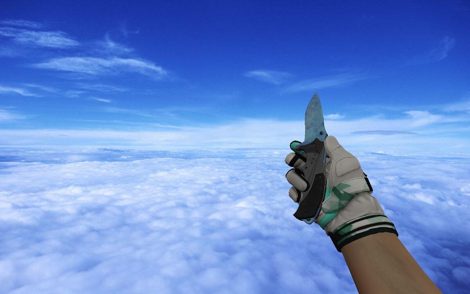 «Nomad Knife | Case Hardened Blue Gem» для CS 1.6