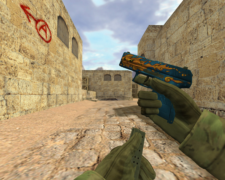 «P2000 Огненный» для CS 1.6