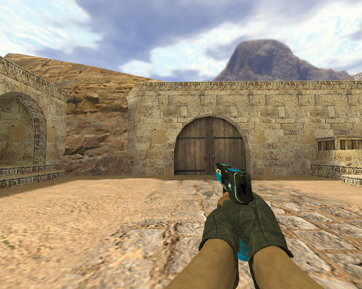 «P250 Голубая мощь» для CS 1.6