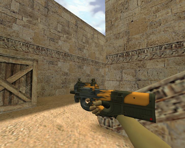 «P90 Воин дорог» для CS 1.6